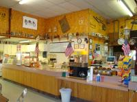 Image of inside of snack bar